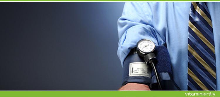 magas vérnyomás menüvel