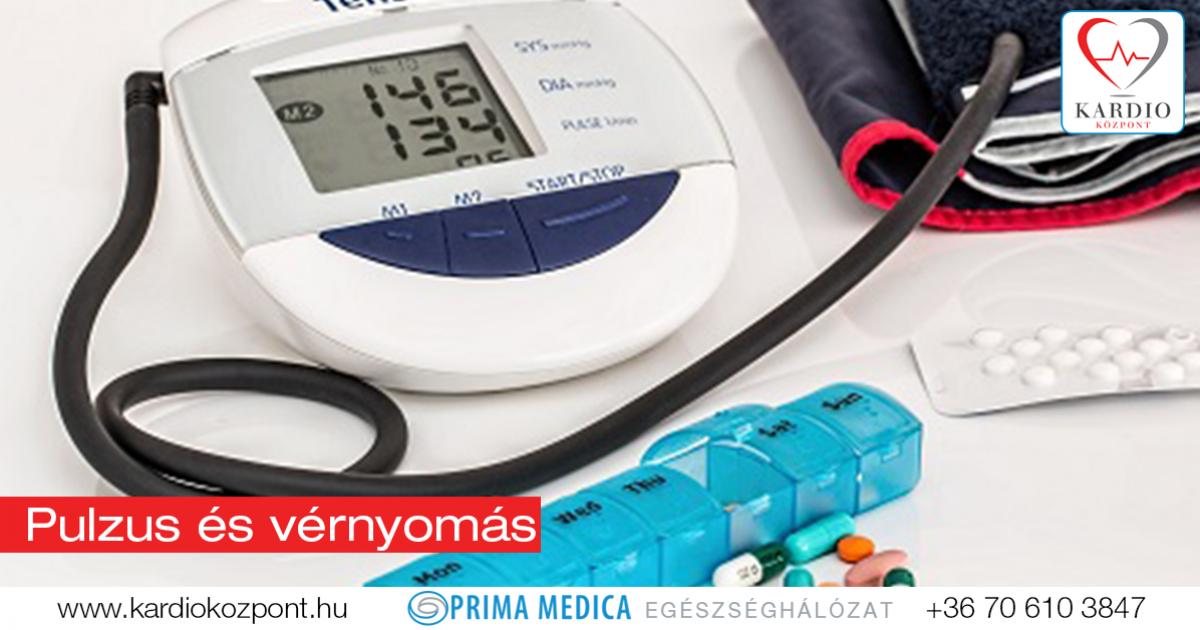 vérnyomáscsökkenés és pulzus magas vérnyomás esetén vese és szív hipertónia