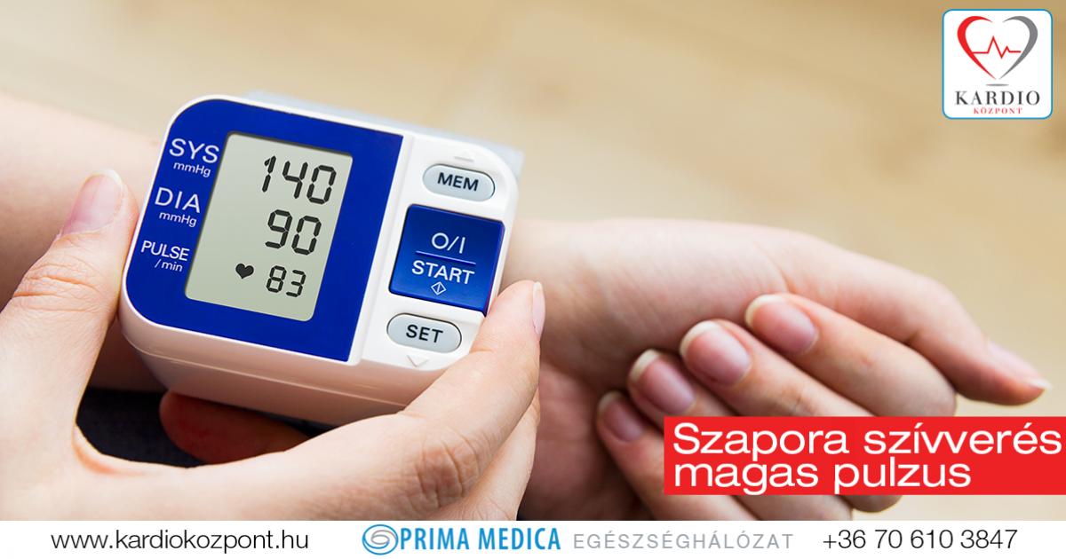 alacsony vérnyomás és magas pulzus magas vérnyomásban szauna magas vérnyomás ellen