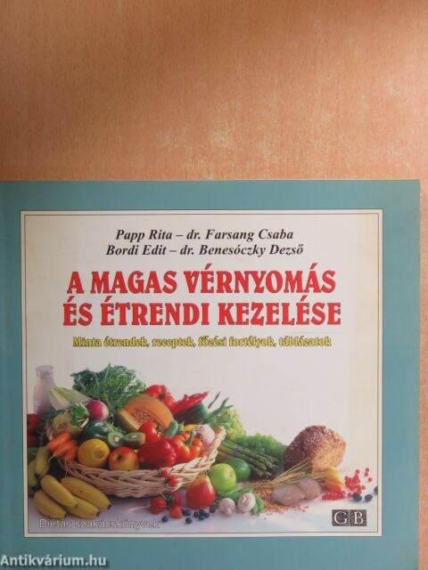magas vérnyomás ételkönyv