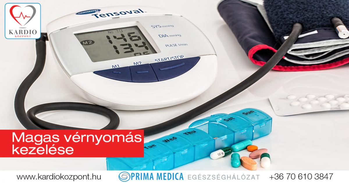 gyógyítsa meg a magas vérnyomást gyógyszerek nélkül