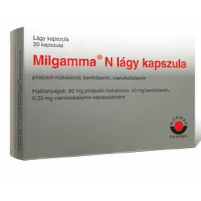 milgamma és magas vérnyomás